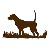 English Pointer Silhouette, Bird Dog Upland Hunting Decal