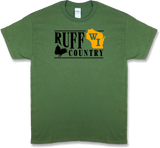 "Wisconsin ""Ruff Country"" State Ruffed Grouse Hunting, Short Sleeve T-shirt - Modern Wild"