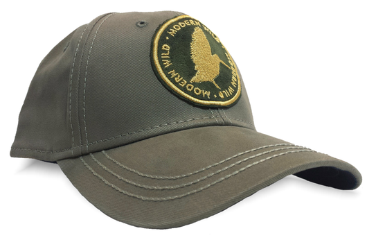 Modern Wild Woodcock Patch, Gray Dri Duck Upland Hunting Cap