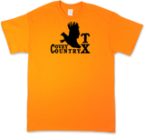 "Texas ""Covey Country"" State Quail Hunting Short Sleeve T-shirt"