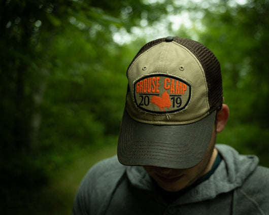Grouse Camp 2019 Unstructured Trucker Cap
