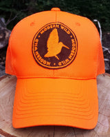 Modern Wild Woodcock Silhouette, Blaze Orange Trucker Cap