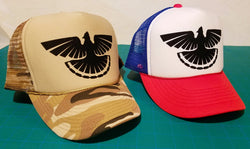 Modern Wild Retro Trucker Upland Hunting Cap, Choose Style / Design