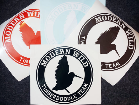 Timberdoodle Team, Woodcock Hunting Decal - Modern Wild