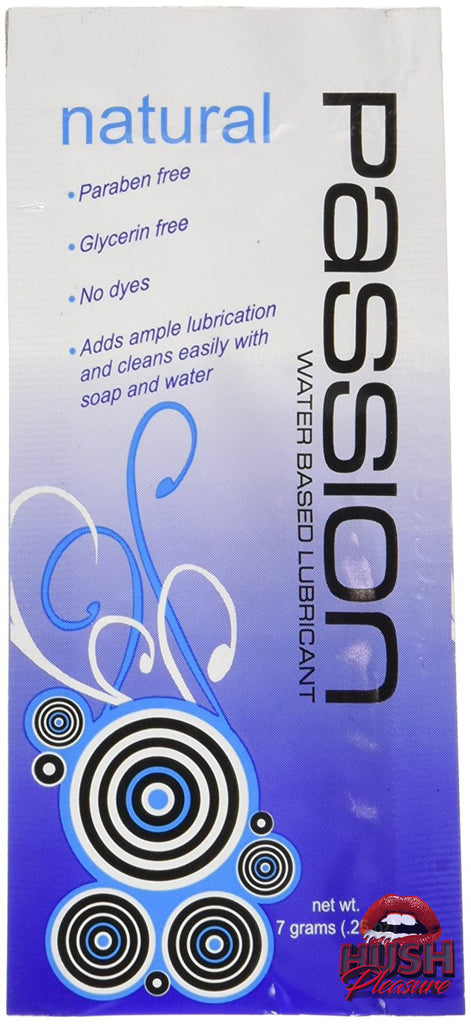 Passion Natural Water-Based Lubricant