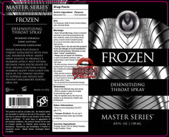 Master Series Frozen Deep Throat Desensitizing 4 oz Spray