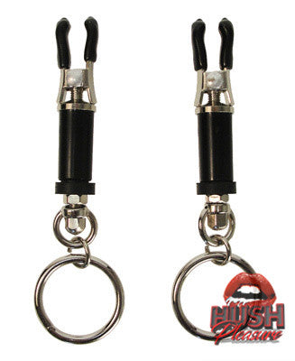Bondage Ring Barrel Clamps