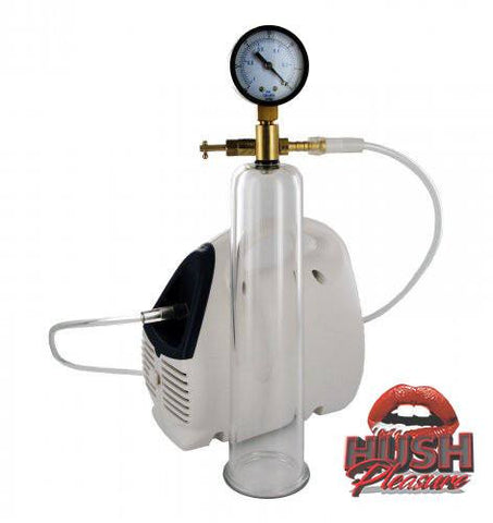Deluxe Electric Pump with Cylinder and Gauge