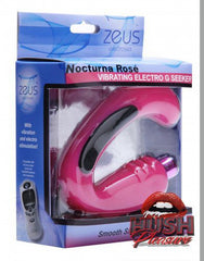 Nocturna Rose Vibrating Electro G-Seeker