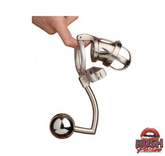 Master Series The Deluxe Extreme Chastity Cage with Accessories