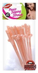 Penis Sipping Straws 10 Pack