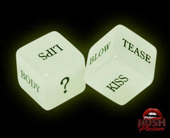 Glow In the Dark Sexy Dice Love Game