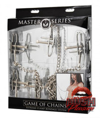 Game of Chains Extreme Clamp Bondage System