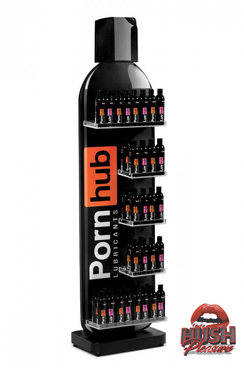 PornHub 510k & CE Certified Lube Retail Display with 192 Bottles