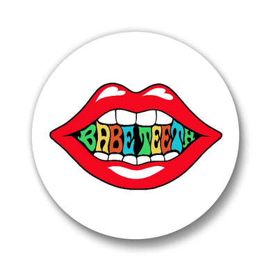 Babe Teeth Button 2-pack