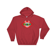 Babe Teeth Original Logo Front/Back Graphic Hooded Sweatshirt (multiple colors)