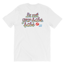 Babe Teeth Original Logo Front/Back Graphic Short-Sleeve Unisex T-Shirt (multiple colors)