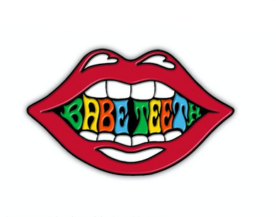Babe Teeth Original Logo Soft Enamel Pin