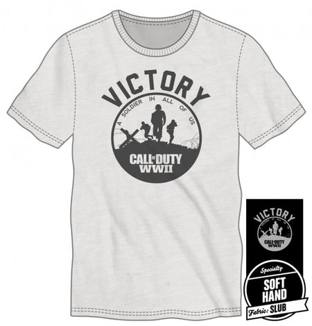 Call of Duty WWII Men's Black T-Shirt