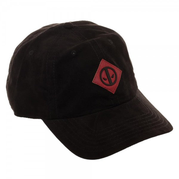 Deadpool Leather Label Suede Hat