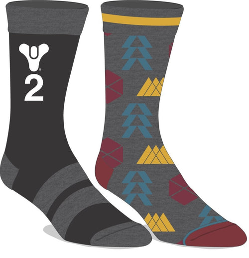 Destiny 2 Pair Pack Crew Sock