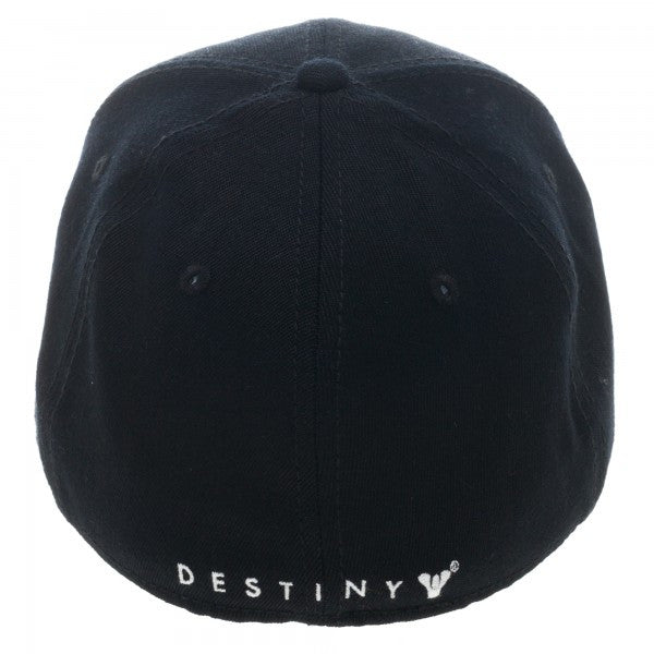 Destiny Logo Black Flex Cap