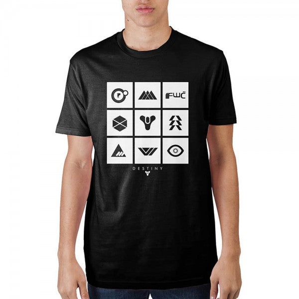 Destiny 2 Multi Icon T-Shirt