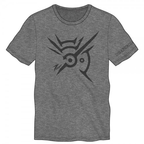 Dishonored 2 Symbol Logo Mens Soft Charcoal Heather T-shirt