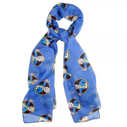 Fallout Vault Boy Cosplay Costume Viscose Scarf