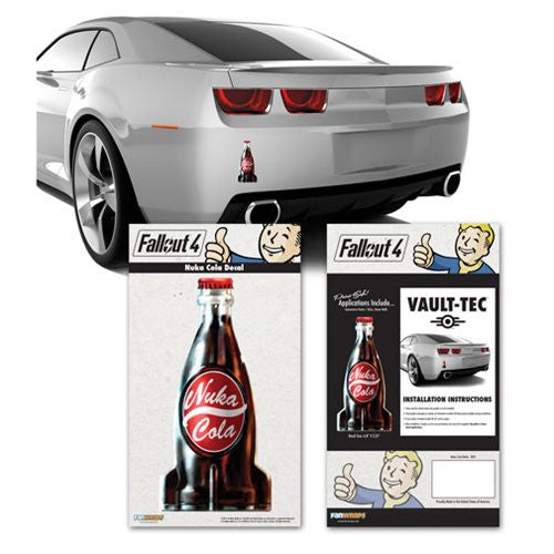 Fallout 4 Nuka Cola Bottle Vinyl Car Wall Decal