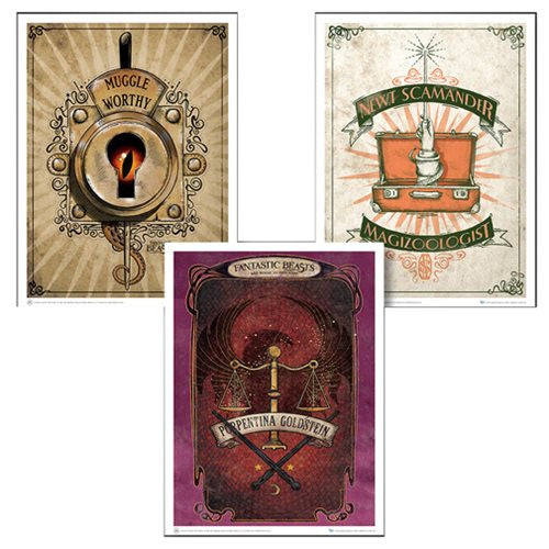 Fantastic Beasts and Where to Find Them Art Print Set 1