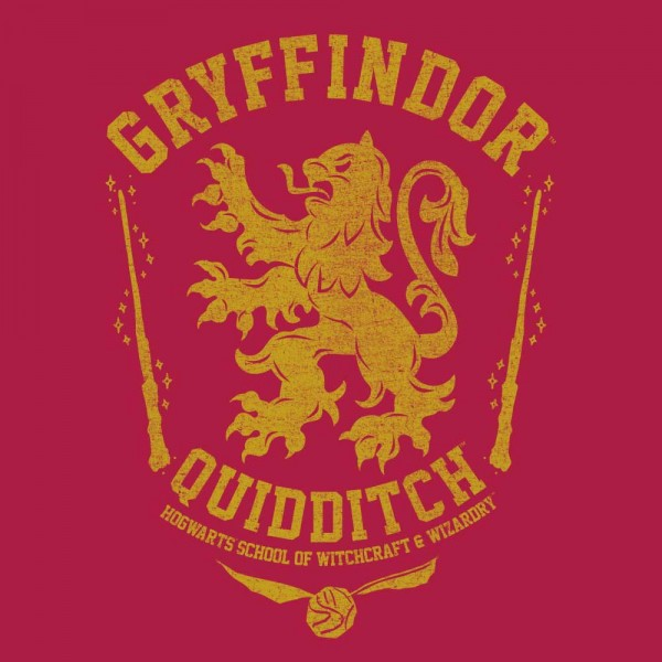 Harry Potter House Gryffindor Oil Washed T-Shirt