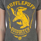 Harry Potter House Hufflepuff Oil Wash T-Shirt