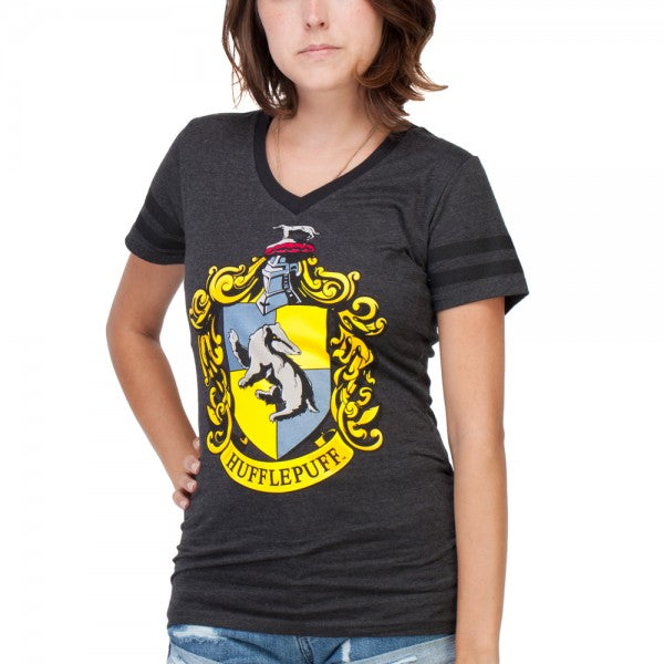 Harry Potter Hufflepuff Women's V-Neck T-Shirt
