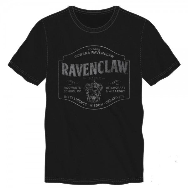 Harry Potter Ravenclaw Black T-Shirt