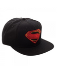 Justice League Movie Superman Icon Embroidered Snapback Cap