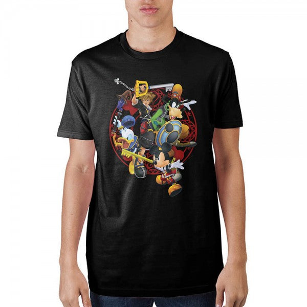 Kingdom Hearts Battle T-Shirt