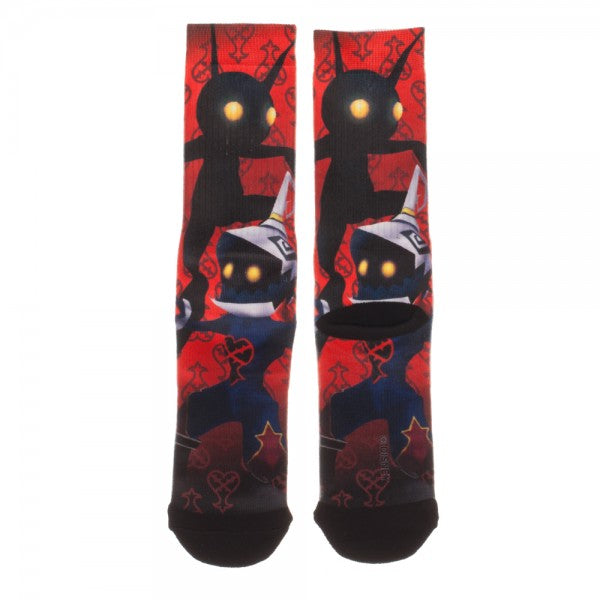 Kingdom Hearts Heartless Sublimated Socks