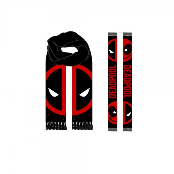 Marvel Deadpool Jacquard Scarf