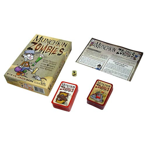Munchkin Zombies Game by Steve Jackson Games *Brand New* Free Shipping!