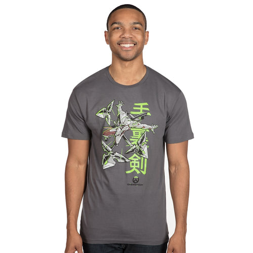 Overwatch Genjis Warrior Spirit Premium T-Shirt
