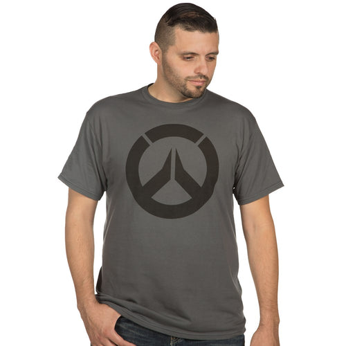 Overwatch Icon Premium Charcoal T-Shirt