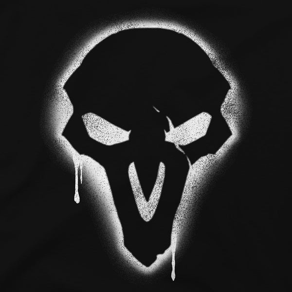 Overwatch Reaper Spray Premium Black T-Shirt