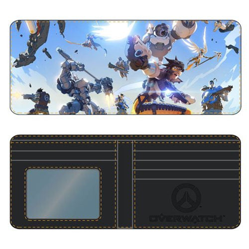 Overwatch Sky Battle Bifold Wallet