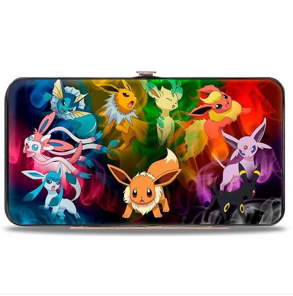 Pokemon Eevee Smokey Evolution Hinged Wallet
