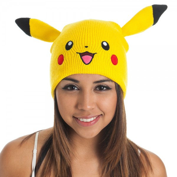 Pokemon Pikachu Beanie with Ears