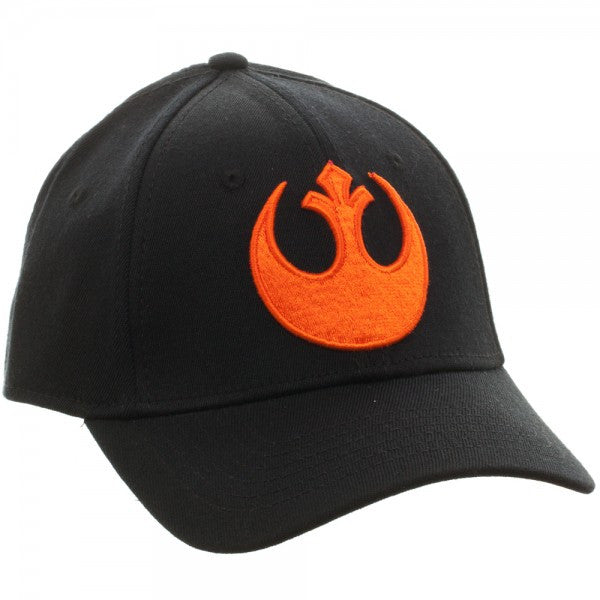 Star Wars Rogue One Rebel Black Flex Cap