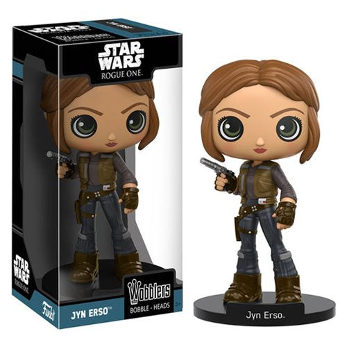 Funko Star Wars Rogue One Jyn Erso Wobbler Bobble Head