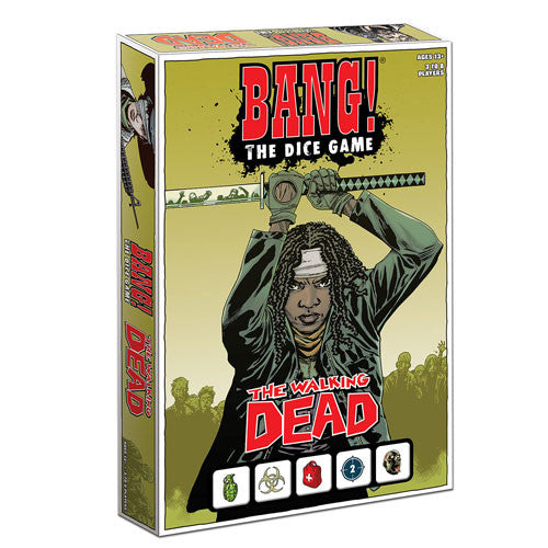 The Walking Dead Comic Book Bang! Dice Game