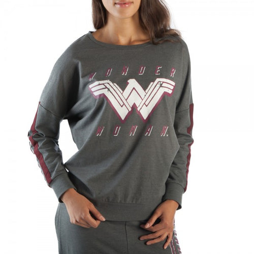 Wonder Woman Gray Sweatshirt